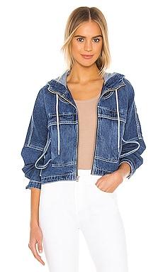 Sport Hoodie Jacket Hudson Jeans $228