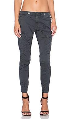 Hudson Jeans Rowan Cargo Pant in Chrome Equinox
