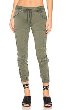 Runaway Flight Pant in Infantry Green