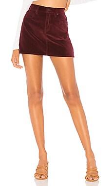 The Viper Velvet Mini Skirt Hudson Jeans $53