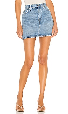 The Viper Mini Skirt Hudson Jeans $175 NEW
