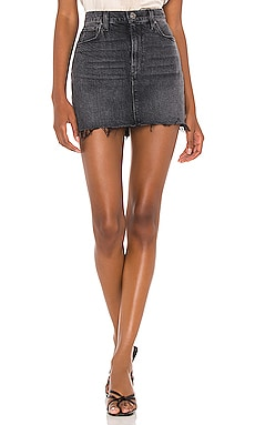 The Viper Mini Skirt Hudson Jeans $165