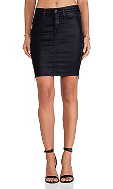 Hudson Jeans Marianne Pencil Skirt in Royal Elektra