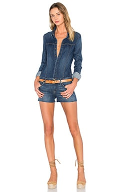 Hudson Jeans Lane Romper in Aviator