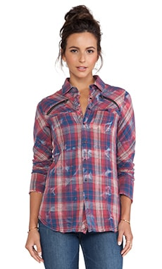 Hudson Jeans Ryan Button Up Shirt in Idyllic