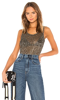 Metallic Tank Hudson Jeans $102