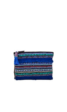 Hairy Clutch in Blue