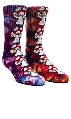 LOT DE 2 PAIRES DE CHAUSSETTES TIE DYE MAGIC