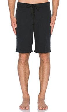 Huf Magic Plantlife Boardshort in Black