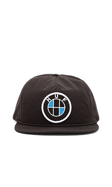 Huf Bavaria Snapback in Black