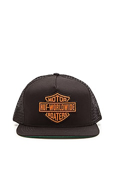 Huf Boaters Snapback in Black