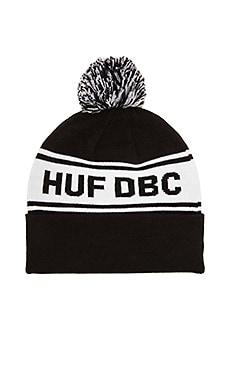 Huf DBC Pom Beanie in Black