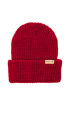 Huf Mohair Beanie in Red