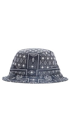 Huf Bandana Bucket Hat in Navy