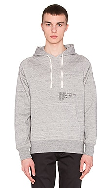 Huf Mil- Spec Cadet Pullover Hood in Grey Heather