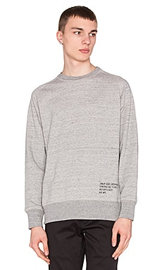Huf Mil- Spec Cadet Crew in Grey Heather