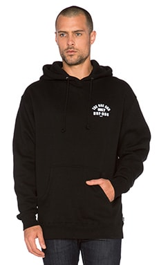 Huf Chief Pullover Hoodie in Black