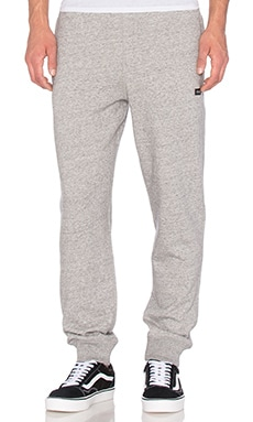 Huf Cadet Fleece Pants in Grey Heather