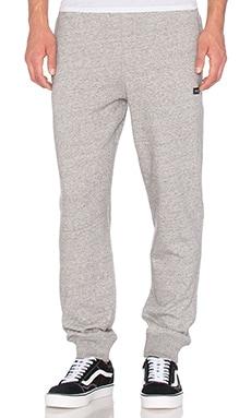 Huf Cadet Fleece Pants in Grey Heather