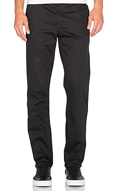 Huf Fulton Chino Pant in Black
