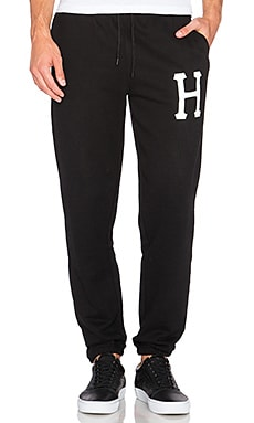 Huf PT Fleece Pant in Black