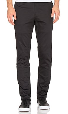 Huf Fulton Chino Slim Pant in Black
