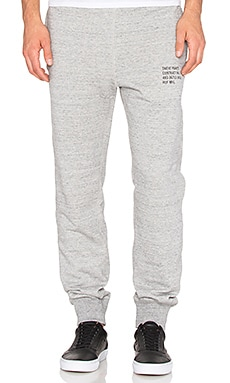 Huf Mil- Spec Cadet Sweatpant in Grey Heather