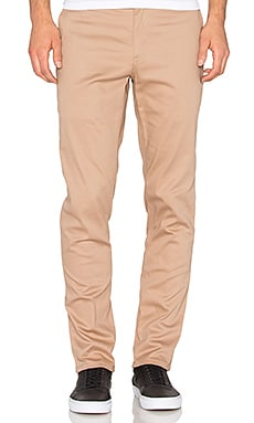 Huf Fulton Chino Slim Pant in Khaki