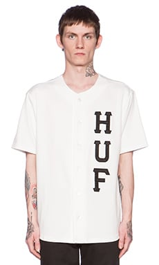 Huf Bullpen Jersey in White