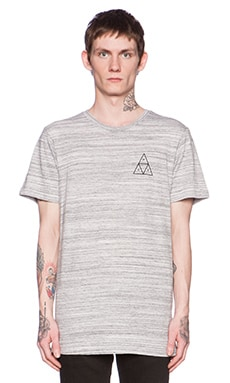 Huf Streaky Wash Tee in White