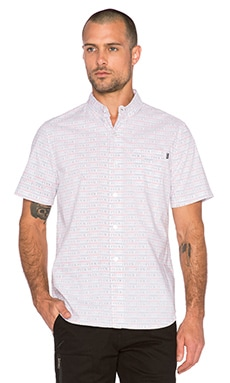 Huf Fuck It Push Thru Shirt in White