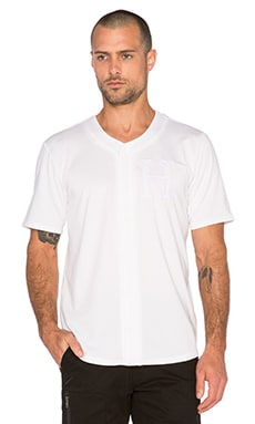 Huf Classic H Baseball Jersey in White