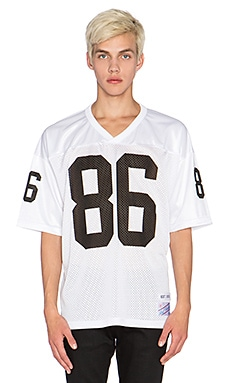 Huf Tailgate Football Jersey in White