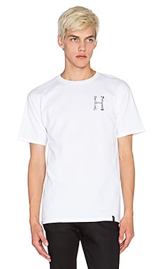 Huf Congestion Tee in White