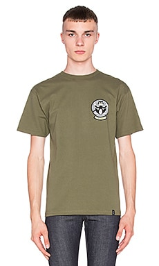 Huf T1-KCUF Tee in Olive