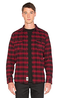 Tardy Flannel Button Down