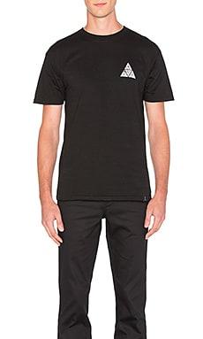 Huf Concrete Triple Triangle Tee in Black