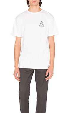 Фото - Камуфляжная футболка с треугольниками street ops - Huf белого цвета