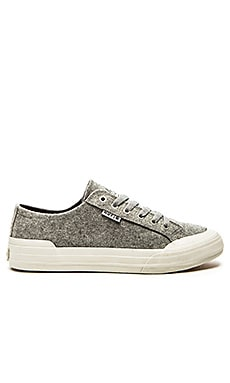 Huf Classic Lo Sneaker in Heather Grey