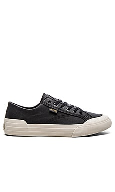 Huf Classic Lo in Black Elephant