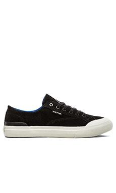 Huf Classic Lo Sneaker in Black Perf/Royal