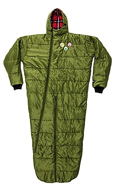 Huf Scout Sleeping Bag in Army