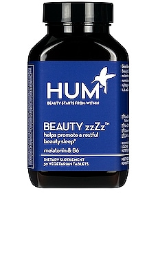 Beauty zzZz Sleep Support Supplement HUM Nutrition $10