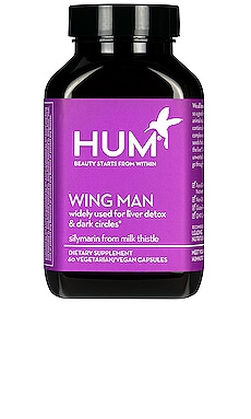 Wing Man Liver Detox and Dark Circle Supplement HUM Nutrition $25