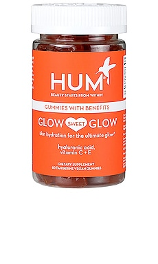 Glow Sweet Glow Skin Hydration Vegan Gummies HUM Nutrition $25