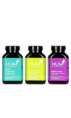 LOT DE SUPPLÉMENTS THE DETOX BOX HUM Nutrition $60