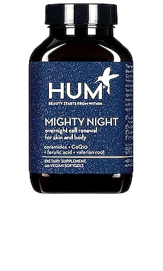 Mighty Night Overnight Cell Renewal For Skin & Body HUM Nutrition $40
