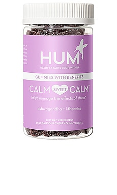 Calm Sweet Calm Stress Reducing Gummies HUM Nutrition $30
