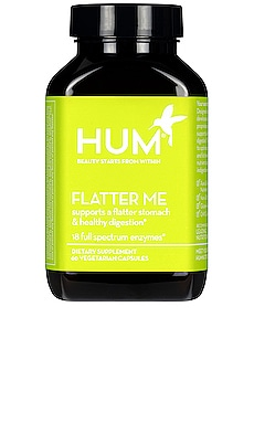 Flatter Me Digestive Enzyme Supplement HUM Nutrition $26