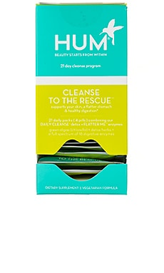Cleanse To The Rescue 21 Day Detox Kit HUM Nutrition $42